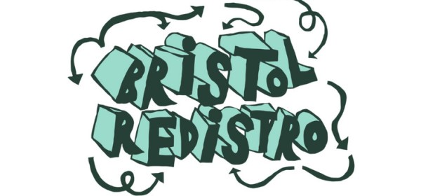 Bristol Redistro Logo, featuring the name surrounded by swirling arrows indicating circularity.